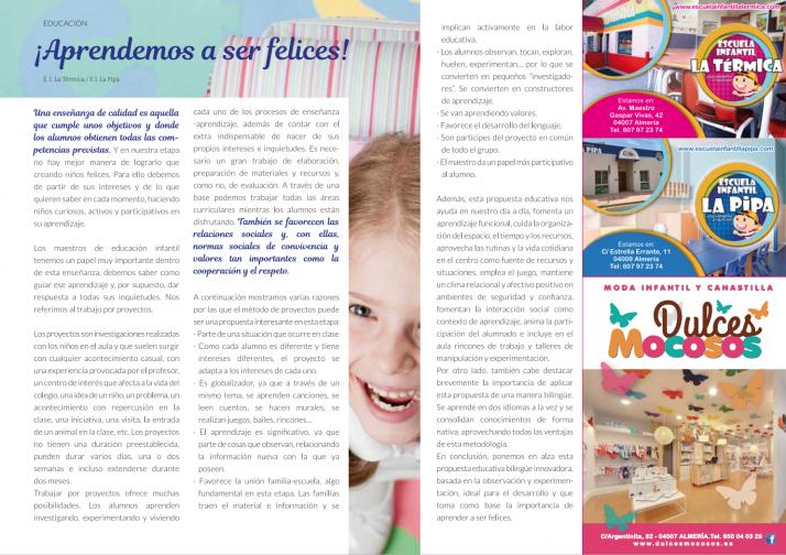 """Publicación revista """"Hola Mamá"""""""